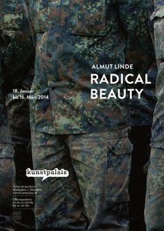 """Plakat zur Ausstellung von Almut Linde - """"Radical Beauty"""" im Kunstpalais Erlangen Layout, Graphic, Outdoor Blanket, Poster, Blog, Beauty, Design, Erlangen, Art"""