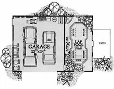 Home Planners Inc., Great Garages, Sheds & Outdoor…  #architecture #drawing Pinned by www.modlar.com