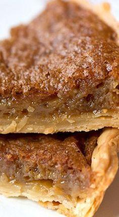 Southern Brown Sugar Pie