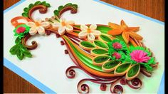 ☑️Quilling Card DIY Paper Quilling Birthday Greeting Card ⏭ Step by Step...
