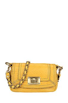 Abaco - Sac - Petit sac cuir jaune Lilj e4c3862f156