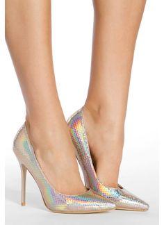 Miss Classy - Mermaid Gold High Heels