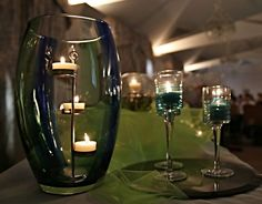 PartyLite 2016 www. Candle Accessories, Candle In The Wind, Winter Springs, Glass Containers, Decoration, White Wine, Light Up, Alcoholic Drinks, Fragrance