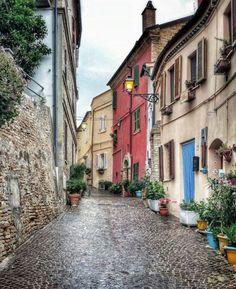 Grottammare Borgo Antico, Grottammare, Marcas, Ascoli Piceno, Itália