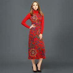 Shrug Full Standard Novelty Turn-down Collar Rushed Limited Pullover Pull Sweater Long Sleeve Hip Skirt Charm Women Dress
