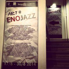 "andrea mattiello  ""Art@ENOJAZZ"" #villalibano #barga #ventidarte #circolodeidifferenti #art #contemporaryart #arte #contemporanea #music #jazz #artista #emergente"