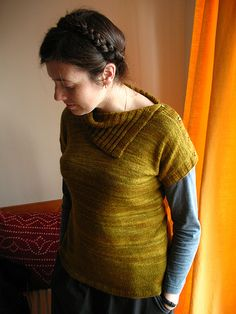 Cocoknits' version of Plain and Simple Pullover by Veera Valimaki