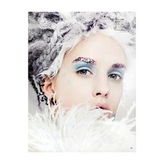 When Snow Falls ❤ liked on Polyvore featuring models, people, backgrounds, faces and winter