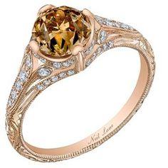 By Neil Lane Diamonds   Unique Engagement Rings: Chocolate Diamond Engagement Rings; Neil Lane ...