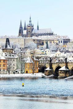 Charles Bridge, Czech Republic via Eurail.com  SOON...