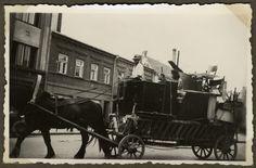 Jews forced into the ghetto in Kovno