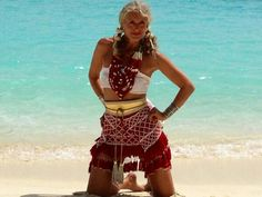 Merel on the Beach! #belt