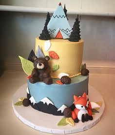 Wilderness Animals Baby Shower Themes Are All The Rage This Year! @Flourshoptx