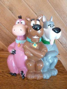 Dino, Scooby-Doo & Astro Cookie Jar made for Warner Brothers Studio Store