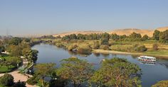 isis,nile | Aswan (Egypt): a branch of the Nile, seen from Isis Island