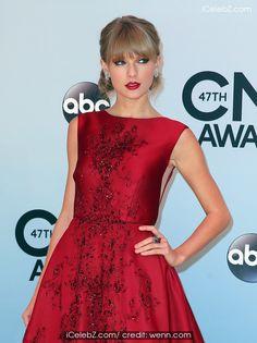 Taylor Swift 47th Annual CMA Awards Red Carpet at the Bridgestone Arena in Nashville TN See more Pic. http://www.icelebz.com/events/47th_annual_cma_awards_red_carpet_at_the_bridgestone_arena_in_nashville_tn/