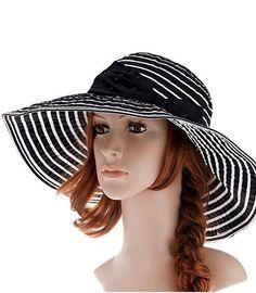 96a025e858ca7 60 Classy Summer Hats to Look Beautiful and Stay UV Protected. Floppy HatsStraw  HatsBeach ...