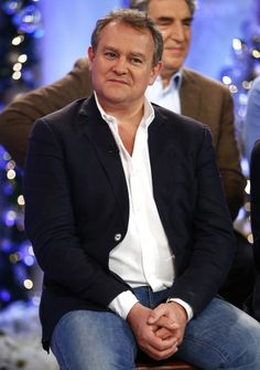 """Downton Abbey - The Earl {Robert Crawley♛Hugh Bonneville} """"I'm not like him at all, other than I'm and drop-dead gorgeous."""" - HB - Page 2 Robert Crawley, Downton Abbey Season 6, Hugh Bonneville, Tv Times, Dead Gorgeous, Best Actor, Bbc, Tv Series, Core"""