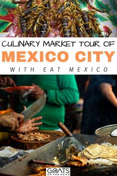 Looking for the best eats around Mexico? Here's our culinary tour of Mexico City that you don't want to miss! Eat your way through the capital in style! | #mexico #mexicanfood #travel Mexico Vacation, Mexico Travel, World's Best Food, A Food, Merida Mexico, Spanish Dishes, Food Travel, Best Dishes, International Recipes