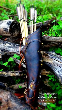 Using The Fastest Crossbow - Pros And Cons - HuntingTopic Archery Quiver, Archery Gear, Archery Bows, Archery Hunting, Bow Quiver, Archery Targets, Deer Hunting, Leather Quiver, Cow Leather