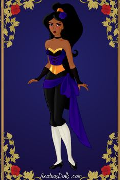 Shinobi Princess: Jasmine by GlamourGoth89.deviantart.com