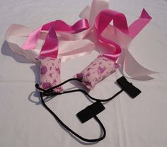 Home made ribbon poi