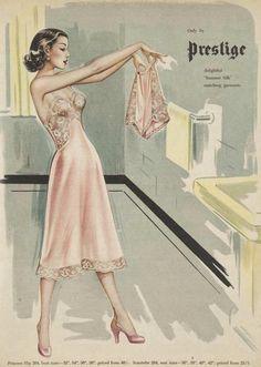 Summer Silk, 1952 advertisement