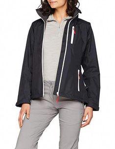 5a2aa67dd3bf Helly Hansen Women s Crew Midlayer Fleece Lined Waterproof Windproof  Breathable Sailing Rain Coat Jacket with Stowable Hood - Alltrendytop