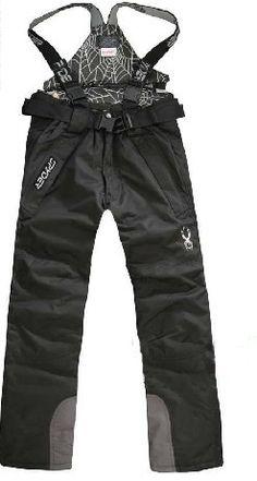 Spyder Fashion Men Ski Pant Black