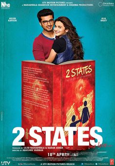 2 States Brand New Poster | Alia, Arjun,2 States, Alia Bhatt, Arjun Kapoor , new poster