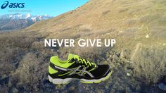 never give up, this is my gym Shoe City, My Gym, Asics Shoes, Giving Up, Never Give Up, Running Shoes, Runing Shoes, Letting Go, Stay Strong