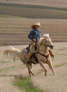 Cowgirl up or go home ~!