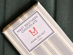 I'm Obsessed With: Mast Brothers Chocolate With Maine Sea Salt #chocoholic #giftideas