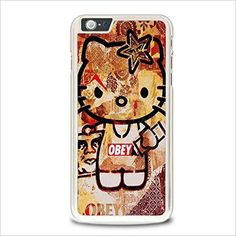 Obey Hello Kitty For iPhone 6 Plus / iPhone Plus Case 6s Plus Case, Iphone 6 Plus Case, Hello Kitty, Phone Cases, Phone Case