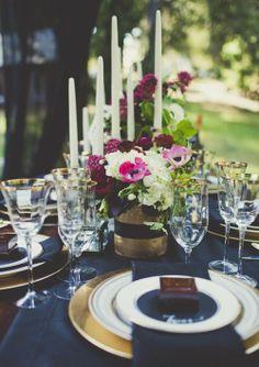 Décorations de table ! J'adore !