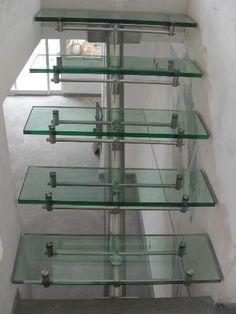 86 mejores im genes de modern stair glass escaleras for Vetreria airoldi