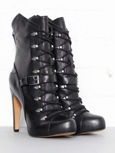 Sam Edelman Knox Lace Up Boots - Lyst