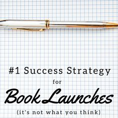 The Success Strategy for Book Launches by Tim Grahl - book marketing genius! Writing Topics, Writing A Book, Creative Writing Tips, A Writer's Life, Book Launch, Self Publishing, How To Find Out, Product Launch, Success