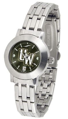 Wyoming Cowboys Dynasty AnoChrome Ladies Watch: Elegant design for the modern woman who wants to show… #sports #sportsshopping #sportswear