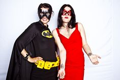 Rethink Romp 2010 | #superhero #batman #black #yellow #red #dress #mask #creative #inspiration #ideas #crimsonphotos | Photography By: Crimson Photos
