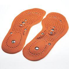 Terapia magnética plantillas del masaje del pie imán promover la circulación de la sangre a aliviar la fatiga cojines del zapato