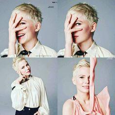 "172 gilla-markeringar, 4 kommentarer - @michellewilliamsfanofficial på Instagram: ""#michellewilliams is so beautiful for @ellefr #photoshoot #actress #model…"""