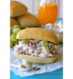 Une salade grec version sandwich