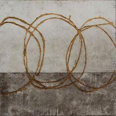 """"""" Art by: Kim Bernard Encaustic """" Source: neutralnotes, Artpropelled Abstract Pattern, Abstract Art, Painting Gallery, Encaustic Painting, Art For Art Sake, Op Art, Art Pictures, Fiber Art, Art Projects"""