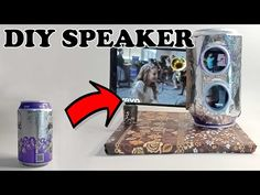 DIY SMARTPHONE SPEAKER LOW BUDGET - DIY MOBILE STAND - YouTube Mobile Stand, Diy Speakers, Diy On A Budget, Diy Videos, Diy Art, Budgeting, Smartphone, Diy Crafts, Mugs