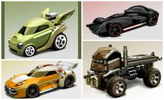 cartoon hotwheels | Hot Wheels Launching Line of Star Wars Characters as Cars ...