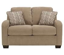 The kreeli loveseat from ashley furniture homestore afhs for Ashley circa taupe sofa chaise