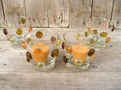 Cute candle holder and easy to do! AND cheap :) Perfect for outdoor entertaining