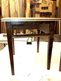 The walnut used in this shaker end table is a once in a life time event. this fantastic piece will sell for $550.00 each