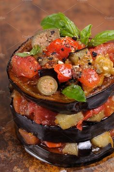 Appetizer of eggplant - Food & Drink
